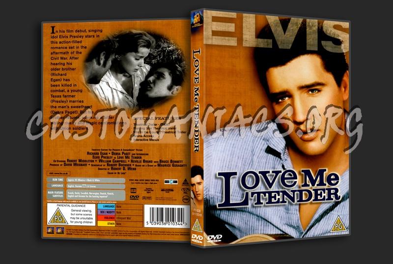 Elvis: Love Me Tender dvd cover