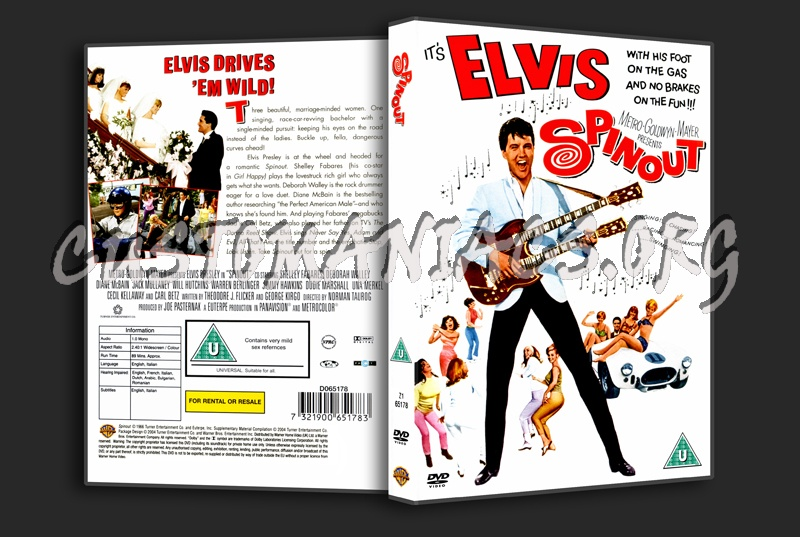 Elvis: Spinout dvd cover