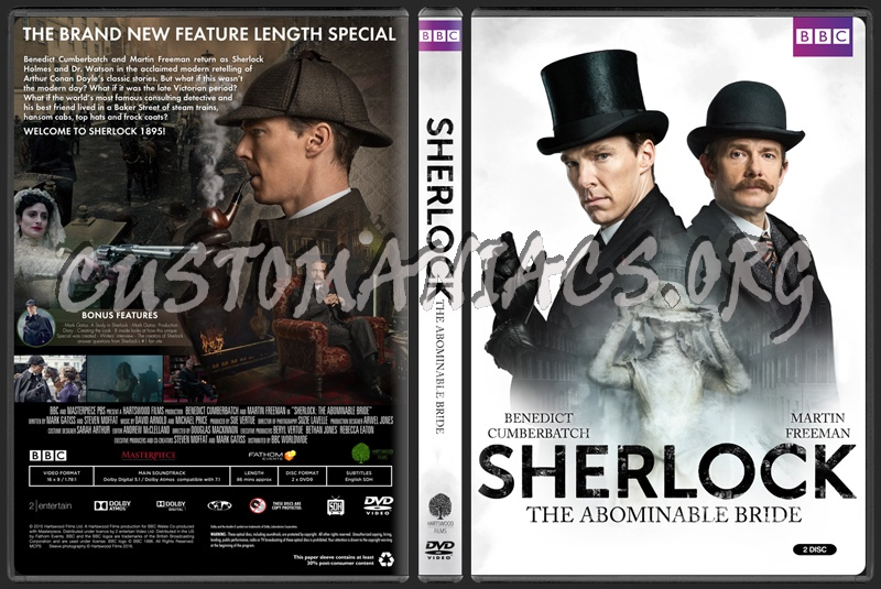 Sherlock The Abominable Bride Dvd Cover Dvd Covers Labels By Customaniacs Id 234411 Free Download Highres Dvd Cover