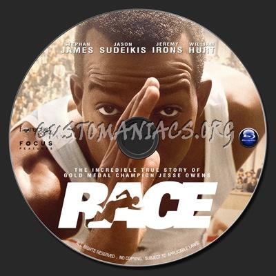 Race (2016) blu-ray label