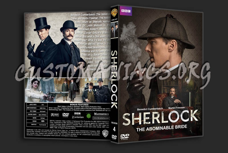 Sherlock The Abominable Bride Dvd Cover Dvd Covers Labels By Customaniacs Id 234518 Free Download Highres Dvd Cover