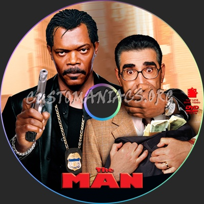 The Man dvd label