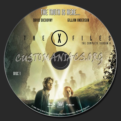 The x files season 1 dvd label disc 1-7 cover addict dvd.