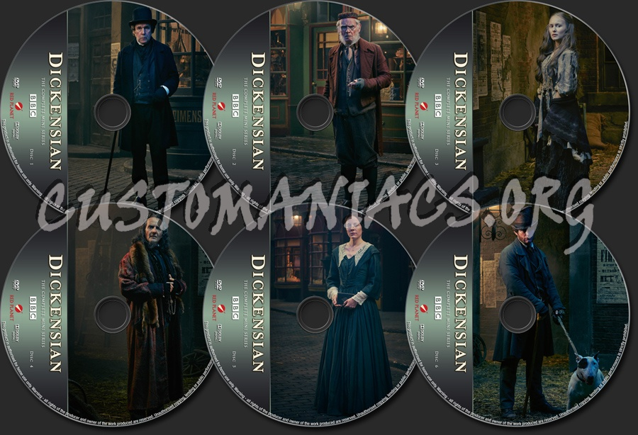 Dickensian Mini-Series dvd label