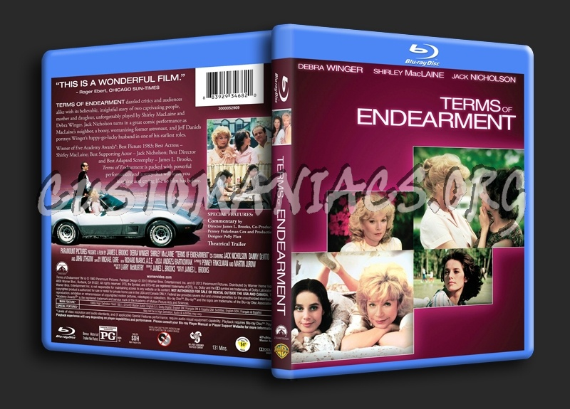 Terms of Endearment blu-ray cover