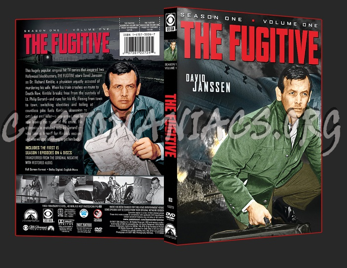 The Fugitive Season 1 Volume 1 dvd cover
