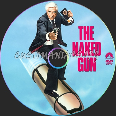 The Naked Gun dvd label