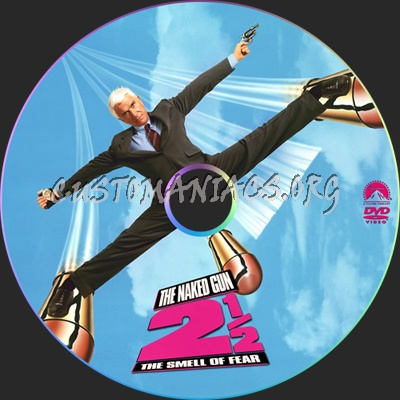 The Naked Gun 2 1/2 dvd label