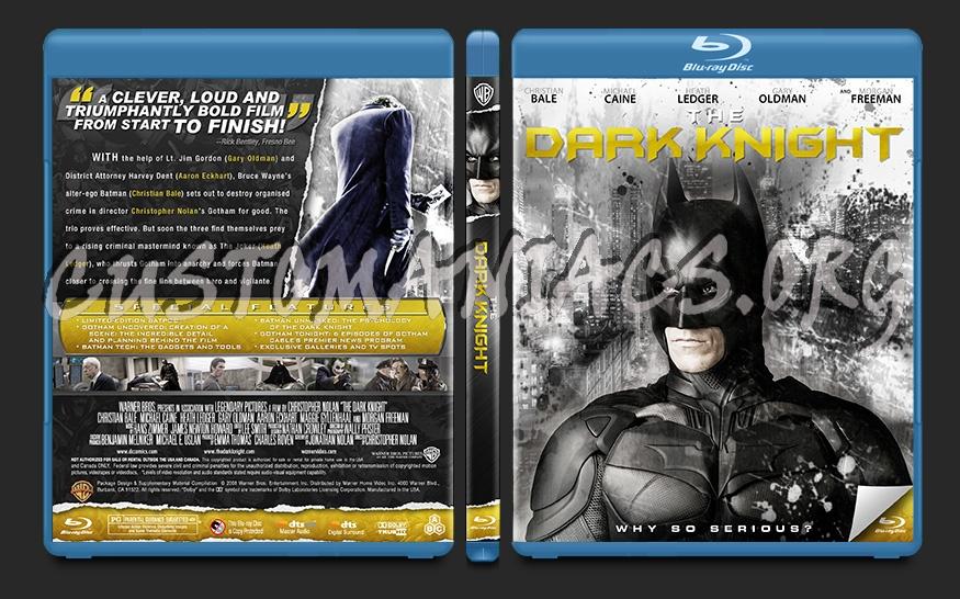 Batman: The Dark Knight blu-ray cover