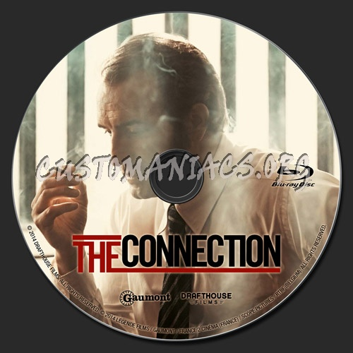 The Connection blu-ray label