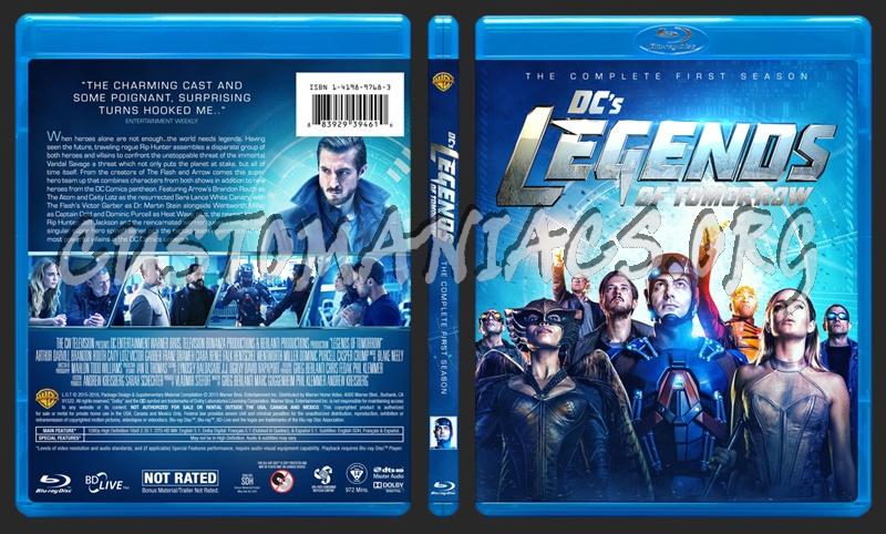 Legends of Tomorrow - Season 1 blu-ray cover