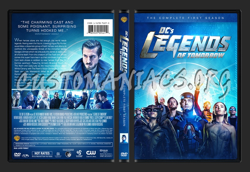 Legends of Tomorrow - Season 1 dvd cover