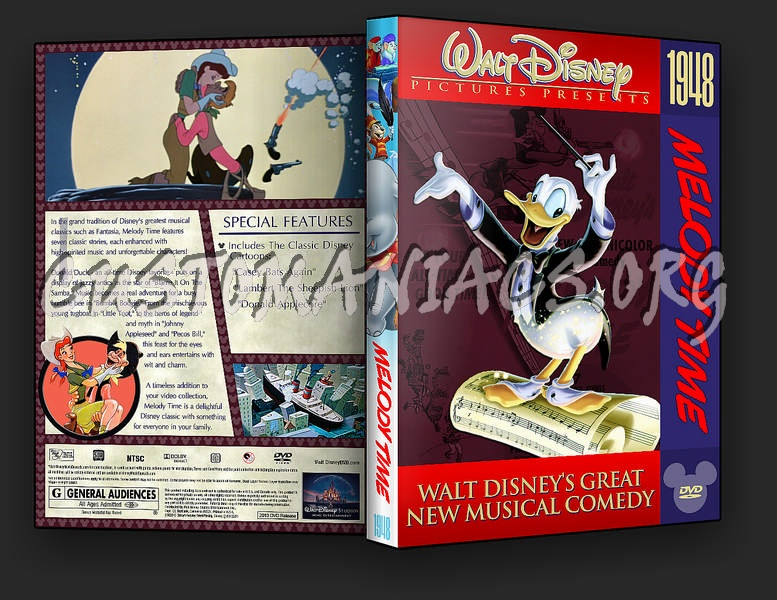 Melody Time Dvd Cover Dvd Covers Labels By Customaniacs Id 235491 Free Download Highres Dvd Cover