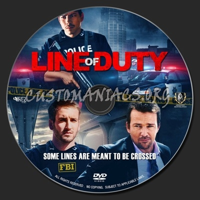 Line Of Duty aka Mission Park (2013) dvd label
