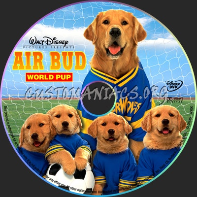 Air Bud: World Pup dvd label