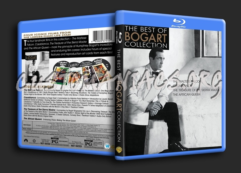 The Best of Bogart Collection blu-ray cover