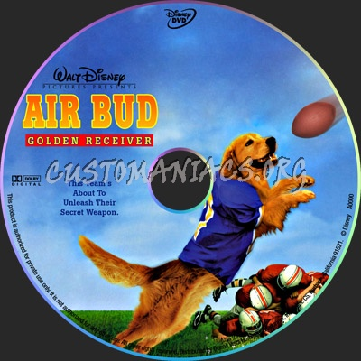 Air Bud: Golden Receiver dvd label