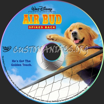 Air Bud: Spikes Back dvd label