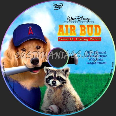 Air Bud: Seventh Inning Fetch dvd label