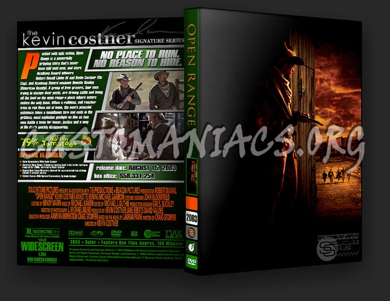 open range dvd cover dvd covers labels by customaniacs id 235575 free download highres dvd. Black Bedroom Furniture Sets. Home Design Ideas