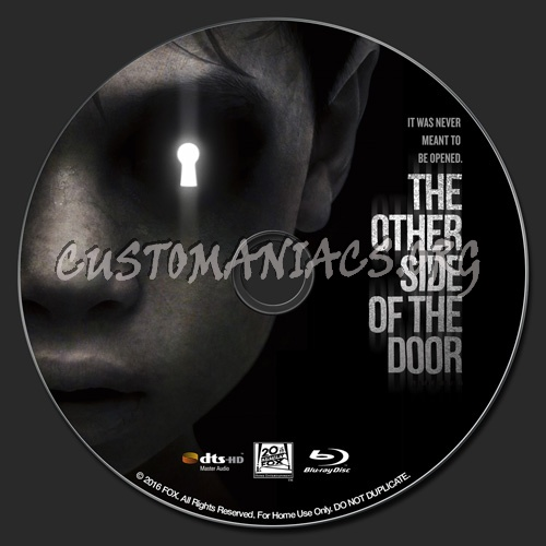 The Other Side of the Door blu-ray label
