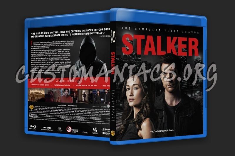 Stalker - Season 1 blu-ray cover