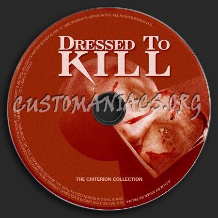770 - Dressed To Kill dvd label