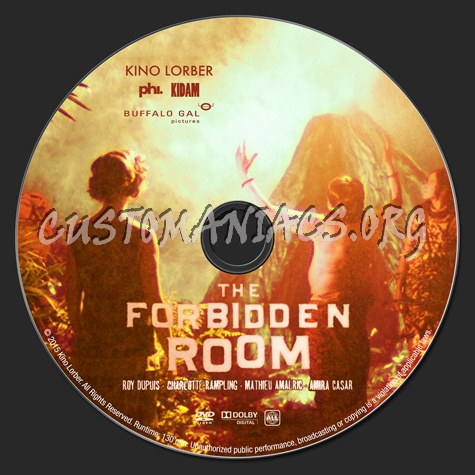 The Forbidden Room dvd label - DVD Covers & Labels by Customaniacs ...