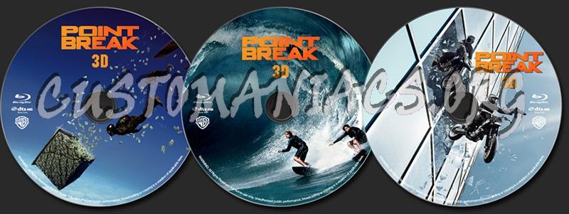 Point Break (3D) blu-ray label