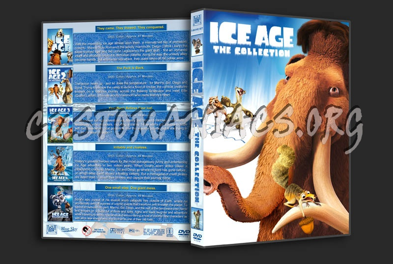 Ice Age: The Collection dvd cover