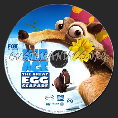 Ice Age: The Great Egg-Scapade dvd label