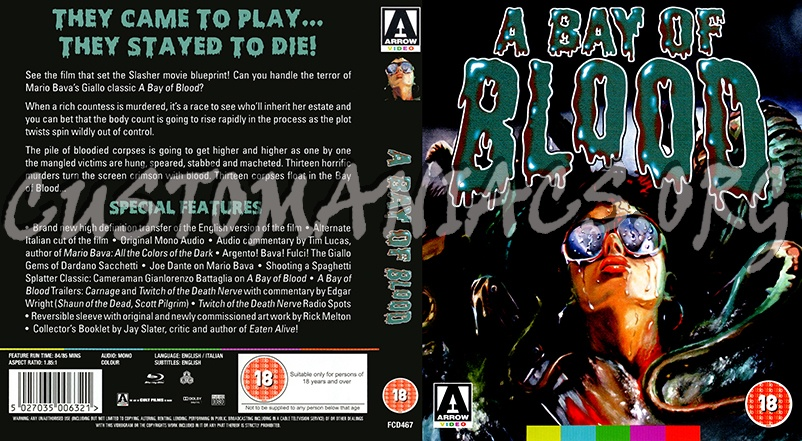 A Bay of Blood blu-ray cover