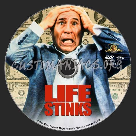 Life Stinks dvd label