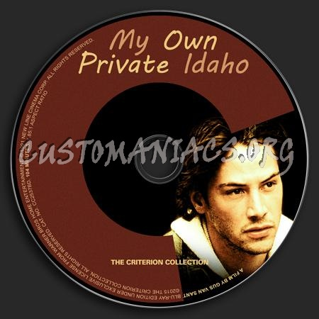 277 - My Own Private Idaho dvd label
