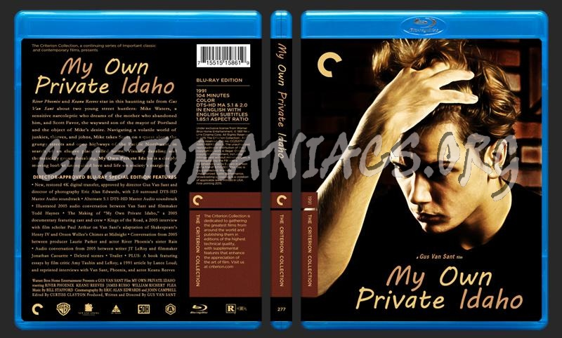 277 - My Own Private Idaho blu-ray cover