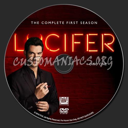 Lucifer - Season 1 dvd label