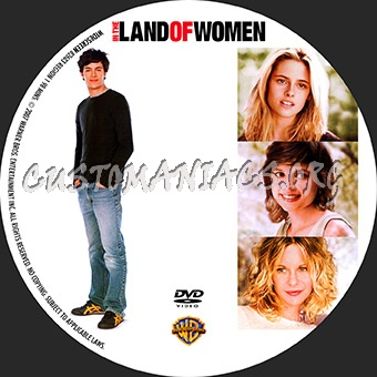 In The Land Of Women dvd label