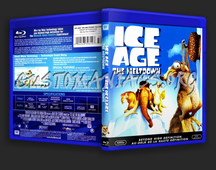 Ice Age 2 blu-ray cover