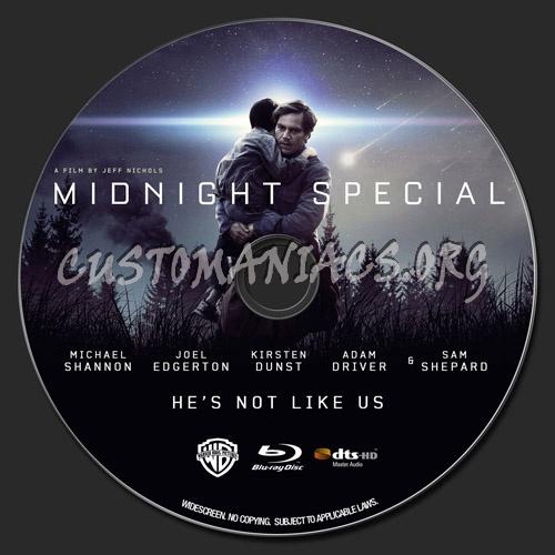 Midnight Special blu-ray label
