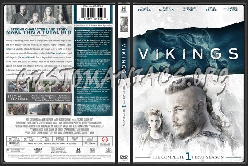 Vikings Season One dvd cover