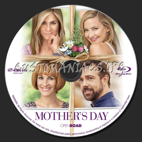 Mother's Day (2016) blu-ray label