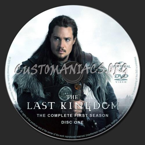 The Last Kingdom: Season 1 dvd label