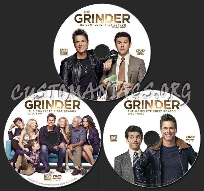 The Grinder: Season 1 dvd label