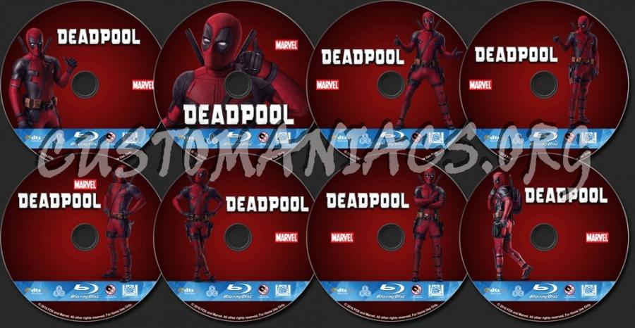 Deadpool blu-ray label