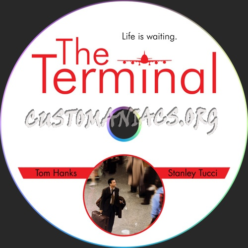 The Terminal dvd label