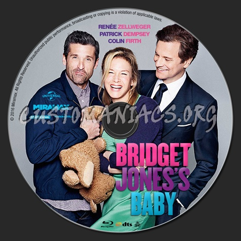 Bridget Jones's Baby blu-ray label