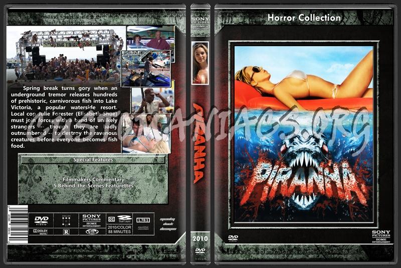 Piranha dvd cover