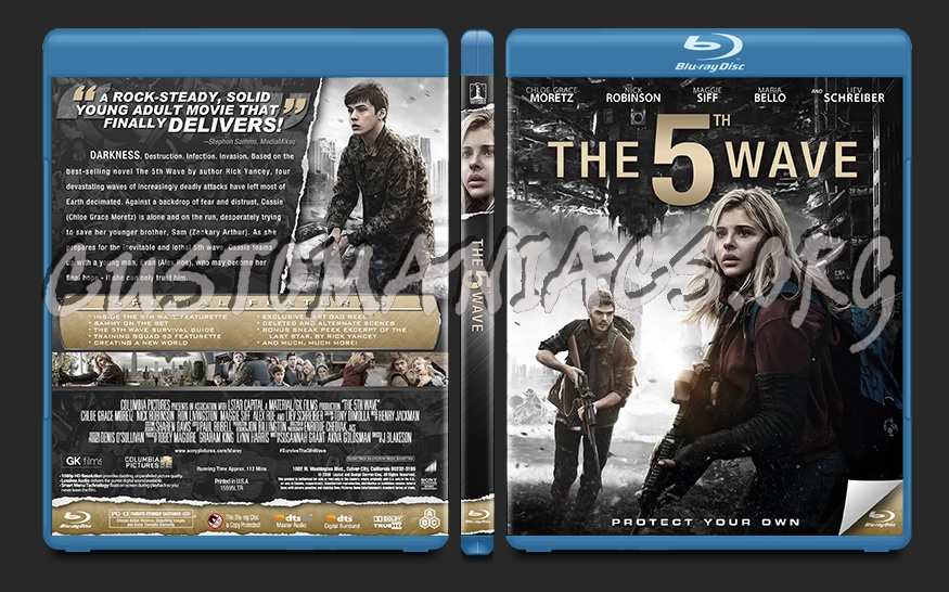 The 5th Wave blu-ray cover