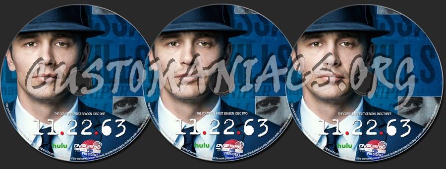 11.22.63 Season 1 dvd label