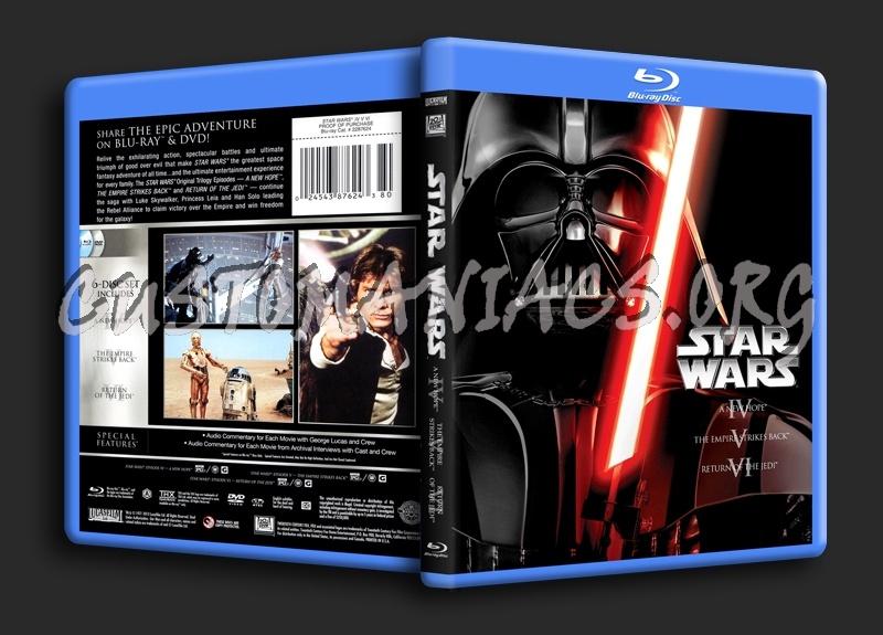 Star Wars IV V VI blu-ray cover